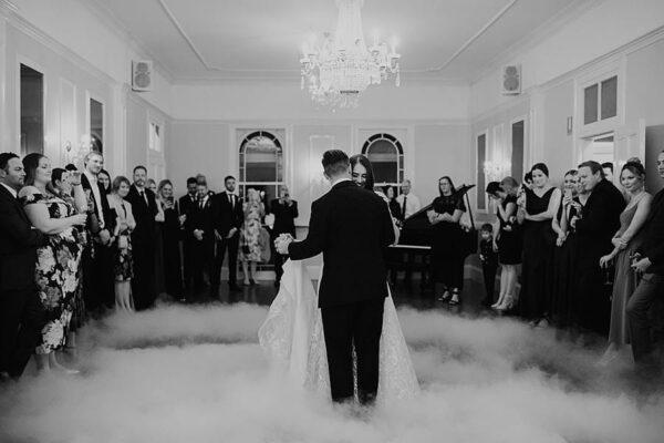 Spectacular Toowoomba Wedding Cloud First Dance - Leah Cruikshank