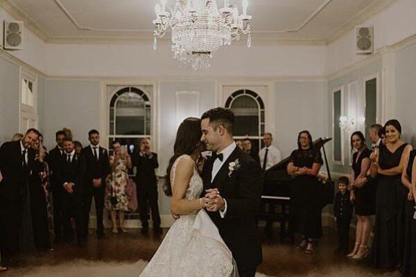 Spectacular Wedding First Dance on a Cloud - Leah Cruikshank