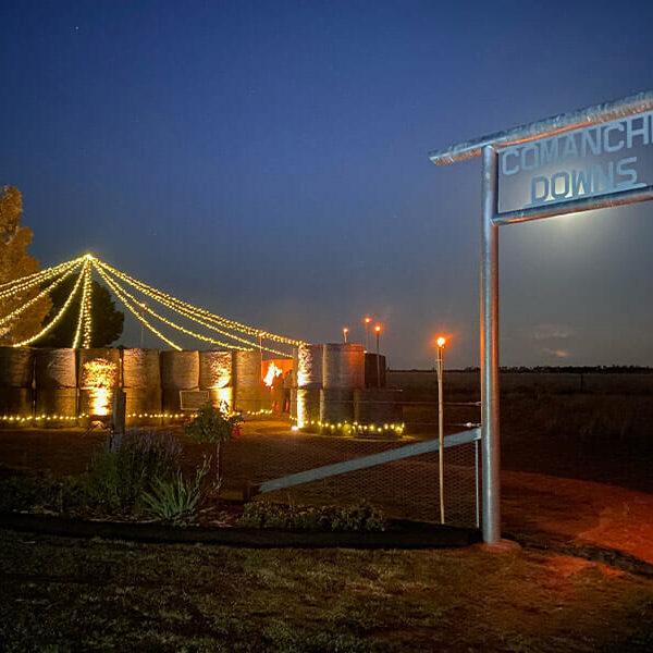 Spectacular Custom Built Hay Arena Wedding Space